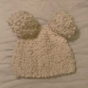 Other - Girls  toddler beanie. Ivory.